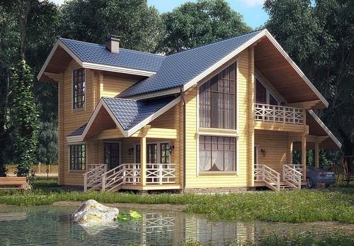 Купить красивый дачный дом