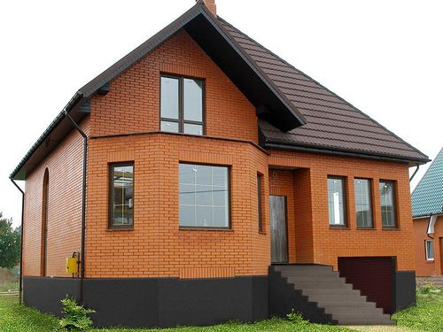 Дизайн дома из кирпича снаружи фото