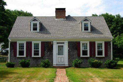 Красивый дом из кирпича