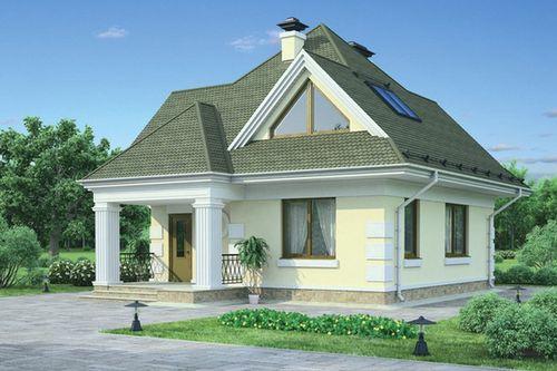 Проект двухэтажного дома 8 10