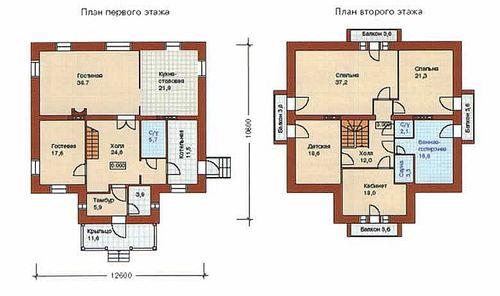 Дом из кирпича смета на дом