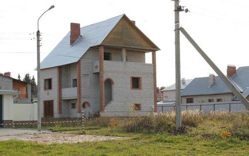 Дом из силикатного кирпича
